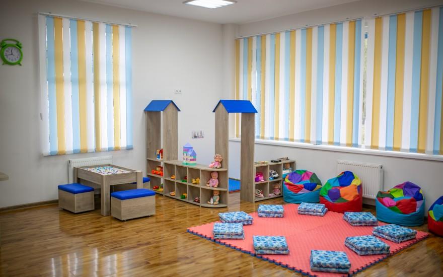 ახალი საბავშვო ბაგა-ბაღი მუხიანის დასახლებაში