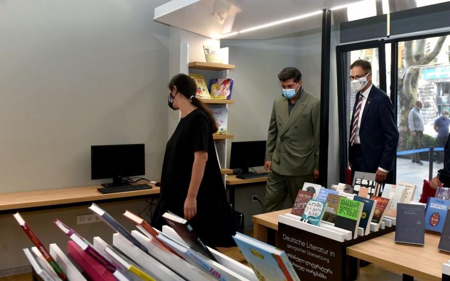 ვაკის რაიონი, აკაკი წერეთლის სახელობის ახლადრეაბილიტირებული  ბიბლიოთეკა