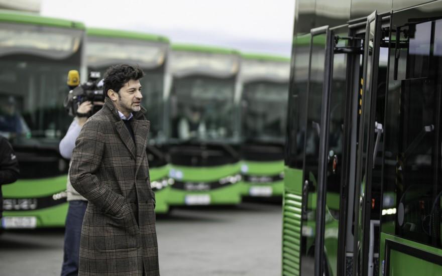 ძველი მუნიციპალური ტრანსპორტი 40 ახალი ავტობუსებით კიდევ 9 მარშრუტზე ჩანაცვლდება
