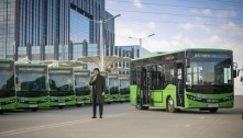დედაქალაქის მოსახლეობას დამატებით 40 ახალი ავტობუსი მოემსახურება