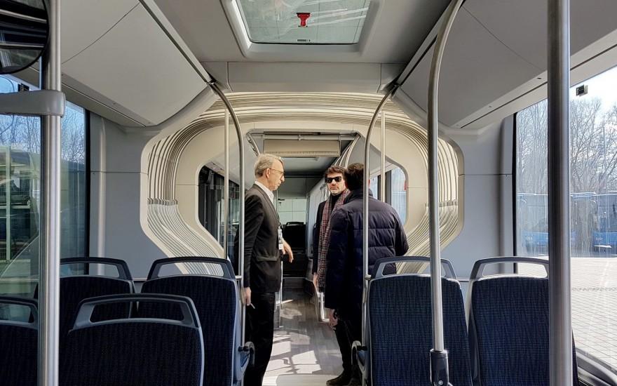 თბილისში უახლესი მოდელის 18-მეტრიანი ავტობუსები შემოვა