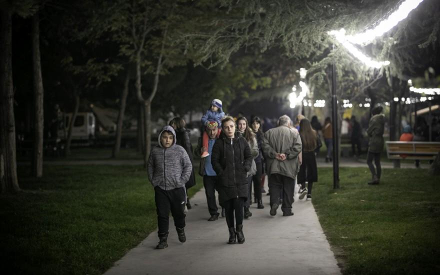 გლდანის მეხუთე მიკრორაიონში საზოგადოებრივი სივრცე გაიხსნა
