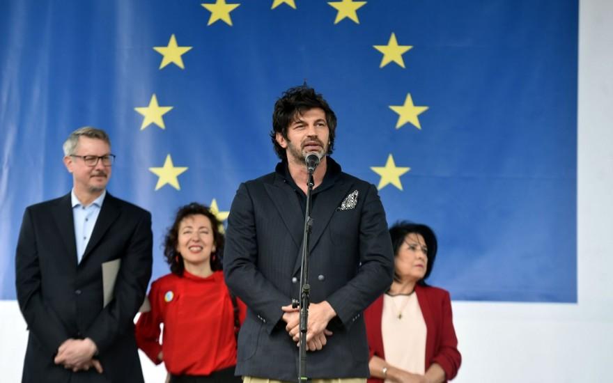 """""""ევროპის დღეების"""" გახსნის ღონისძიება"""