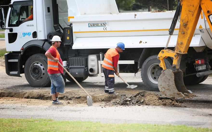 კახეთის გზატკეცილზე მიმდინარე სარეაბილიტაციო სამუშაოებიკახეთის გზატ