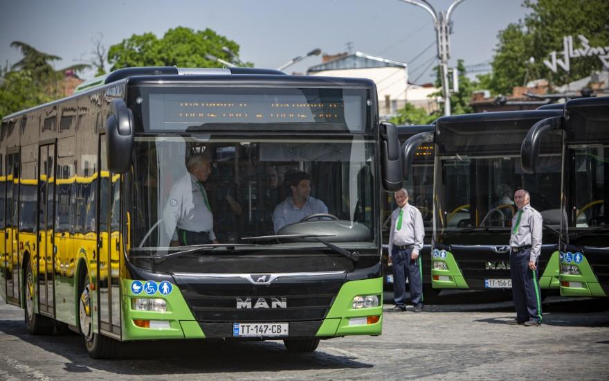 ახალი მუნიციპალური ავტობუსების წარდგენა