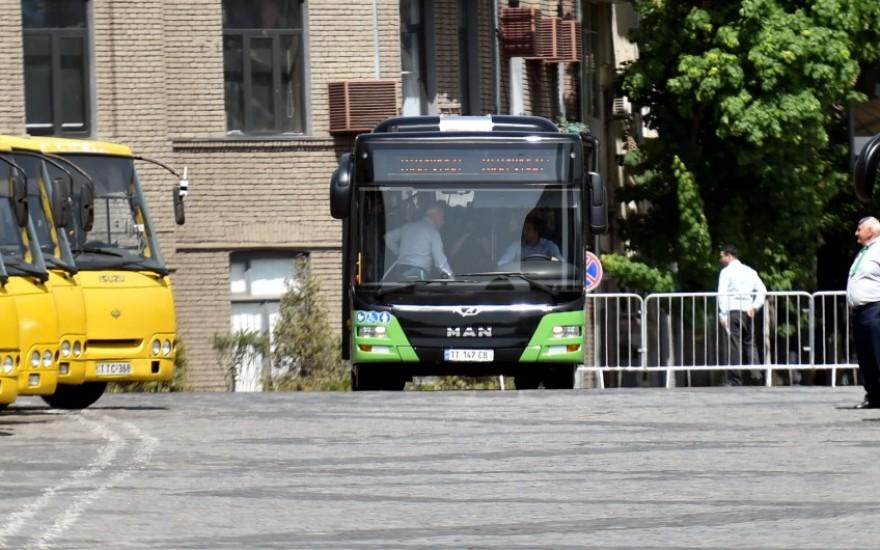 ახალი მუნიციპალური ავტობუსები წარდგენა
